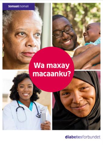 Bilde av Hva er diabetes? Somali