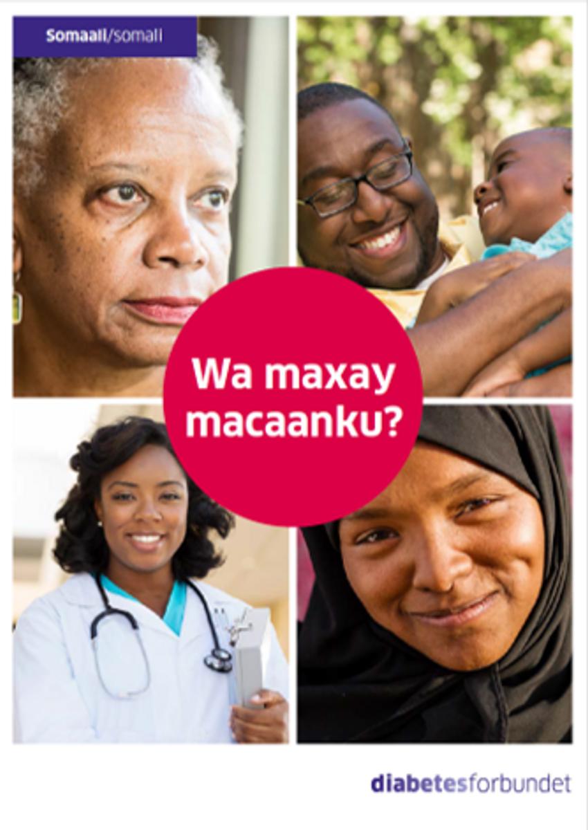 Hva er diabetes? Somali