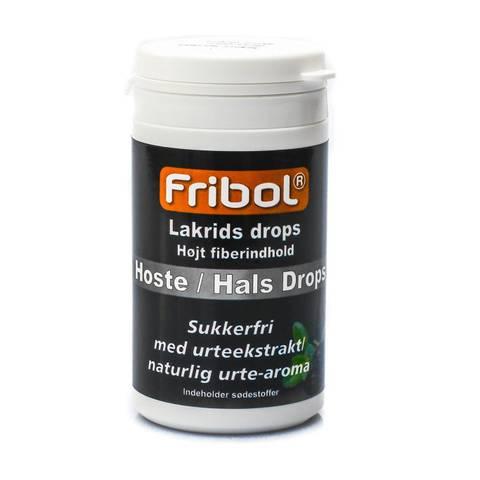 Bilde av Fribol sukkerfri Hoste/Hals lakris boks